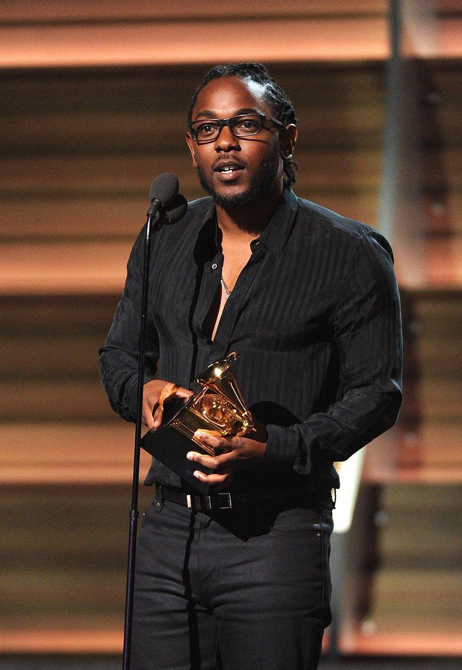 """En 2016, Kendrick Lamar raflait cinq Grammy Awards dont celui de la meilleure performance rap pour """"Alright""""."""