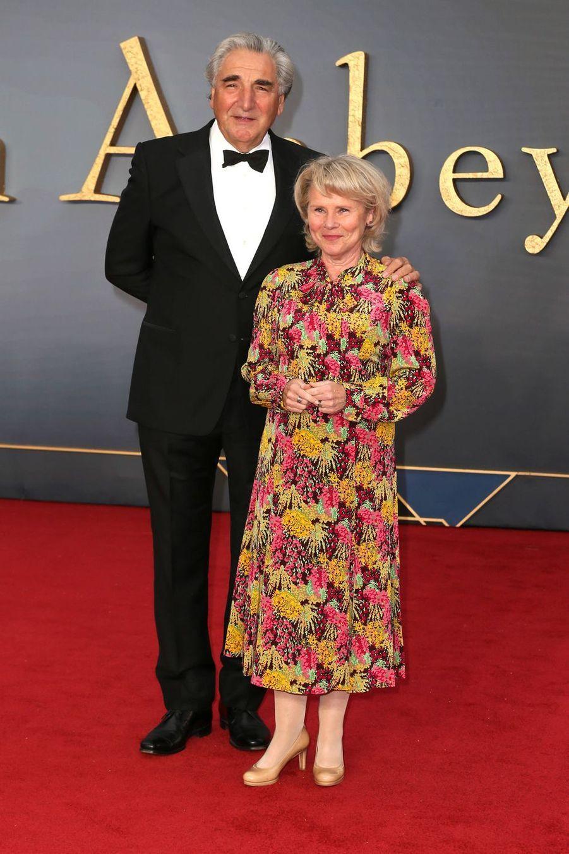 Jim Carter et Imelda Staunton