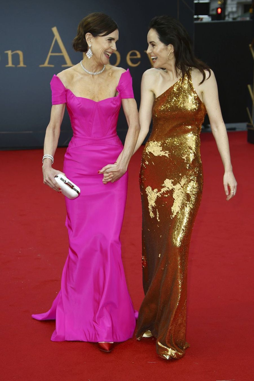 Elizabeth McGovern et Michelle Dockery