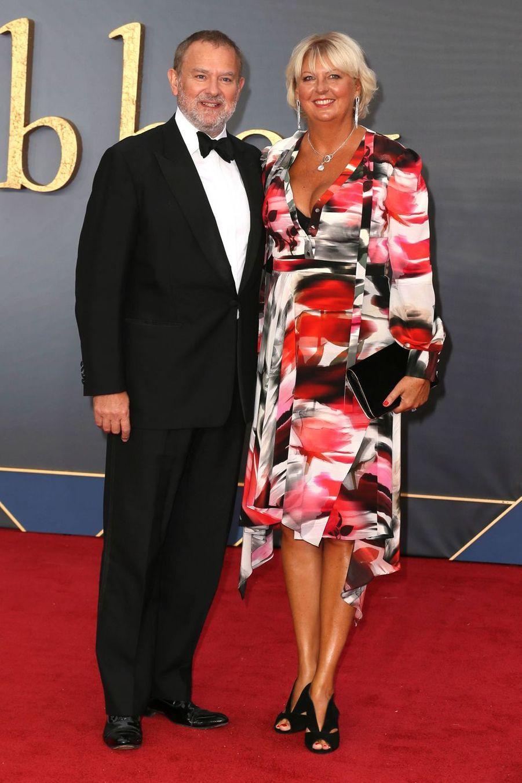 Hugh Bonneville et Lulu Williams