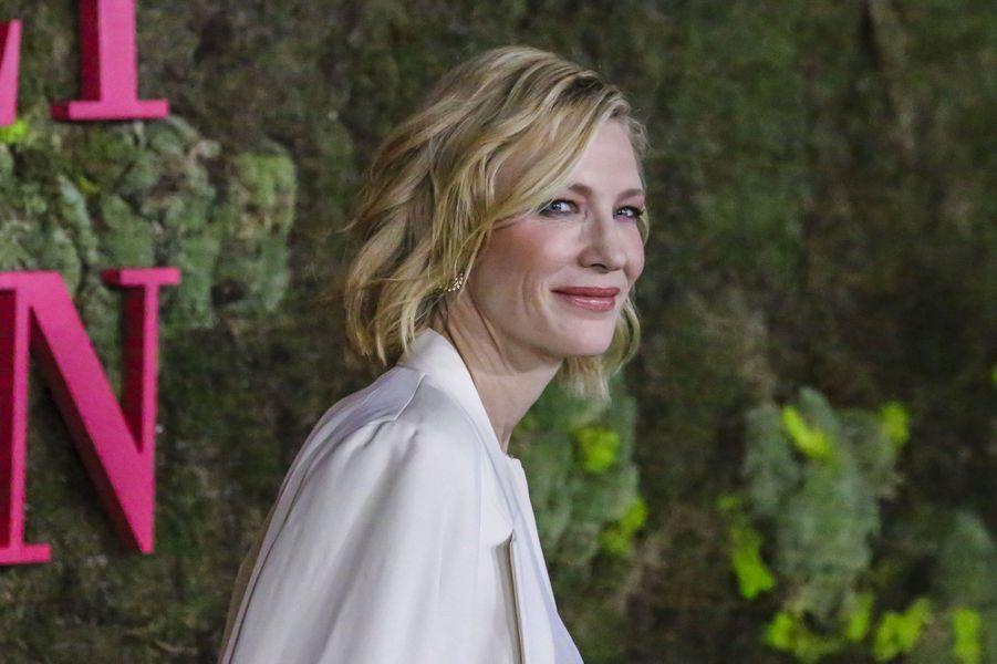 Cate Blanchett aux Green Fashion Awards à Milan, le 23 septembre 2018