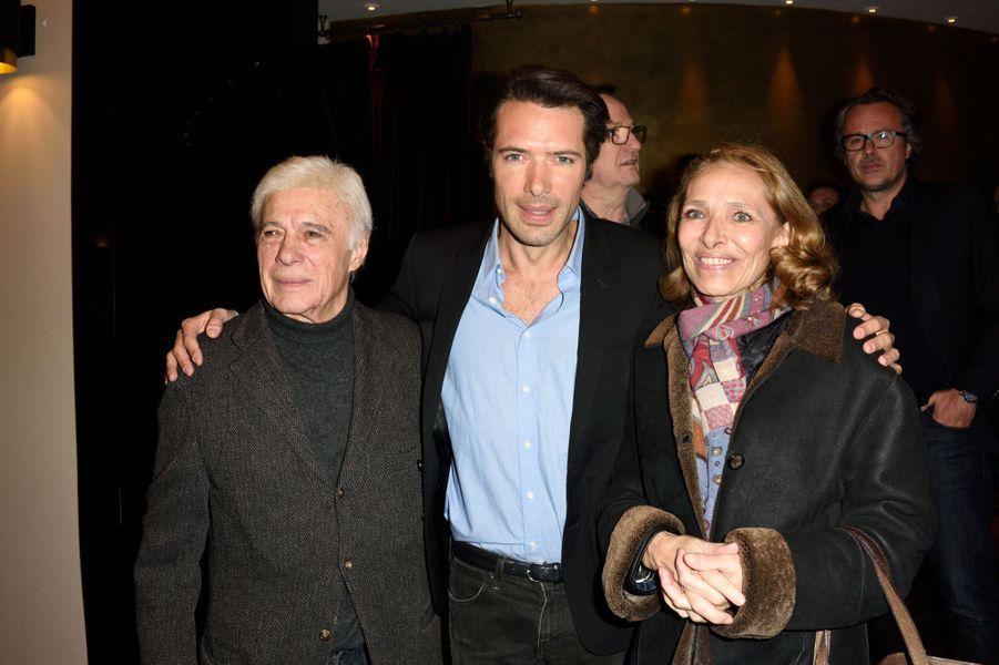 Nicolas Bedos et ses parents