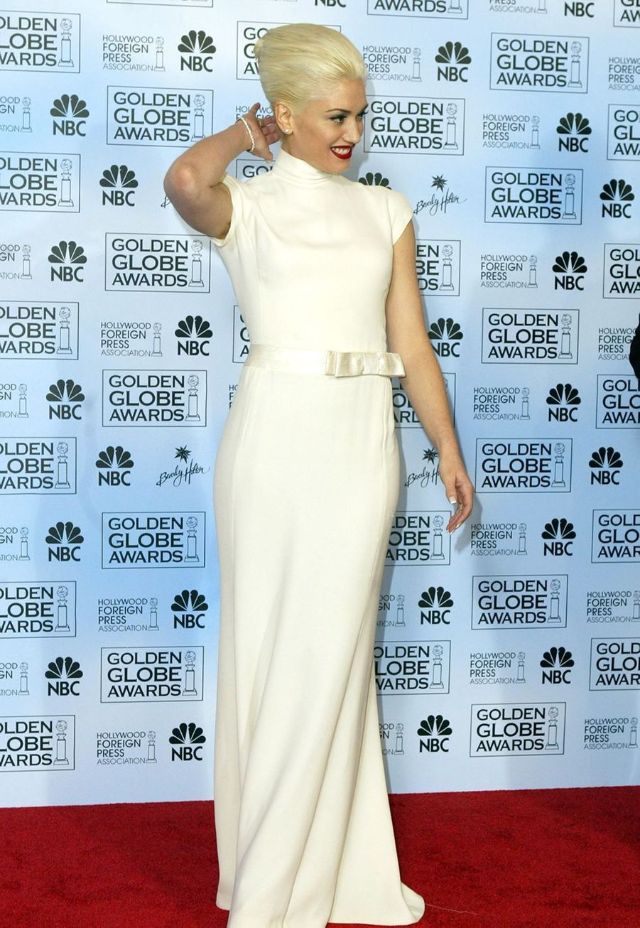 Gwen Stefani aux Golden Globes en 2004.