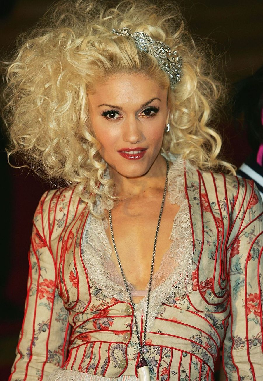 Gwen Stefani aux Brit Awards de Londres en 2005.