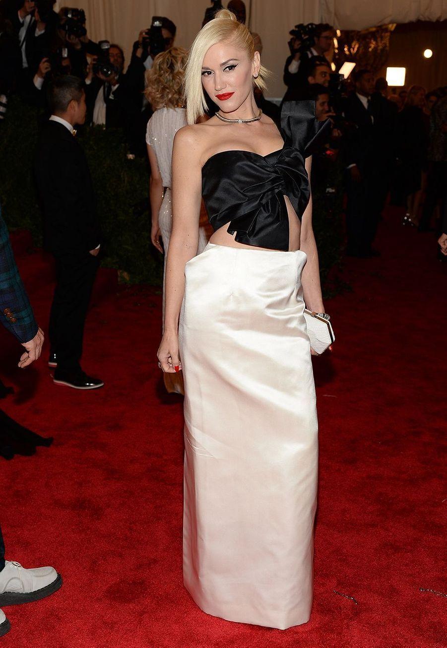 Gwen Stefani au Met Gala de New York en 2013.