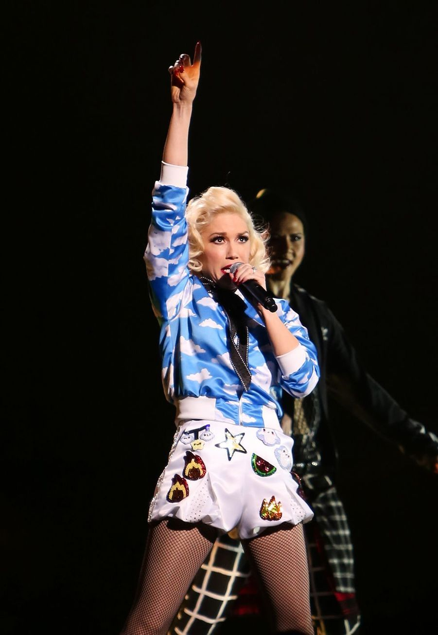 Gwen Stefani en concert à l'Orpheum Theater, Los Angeles, en 2015.