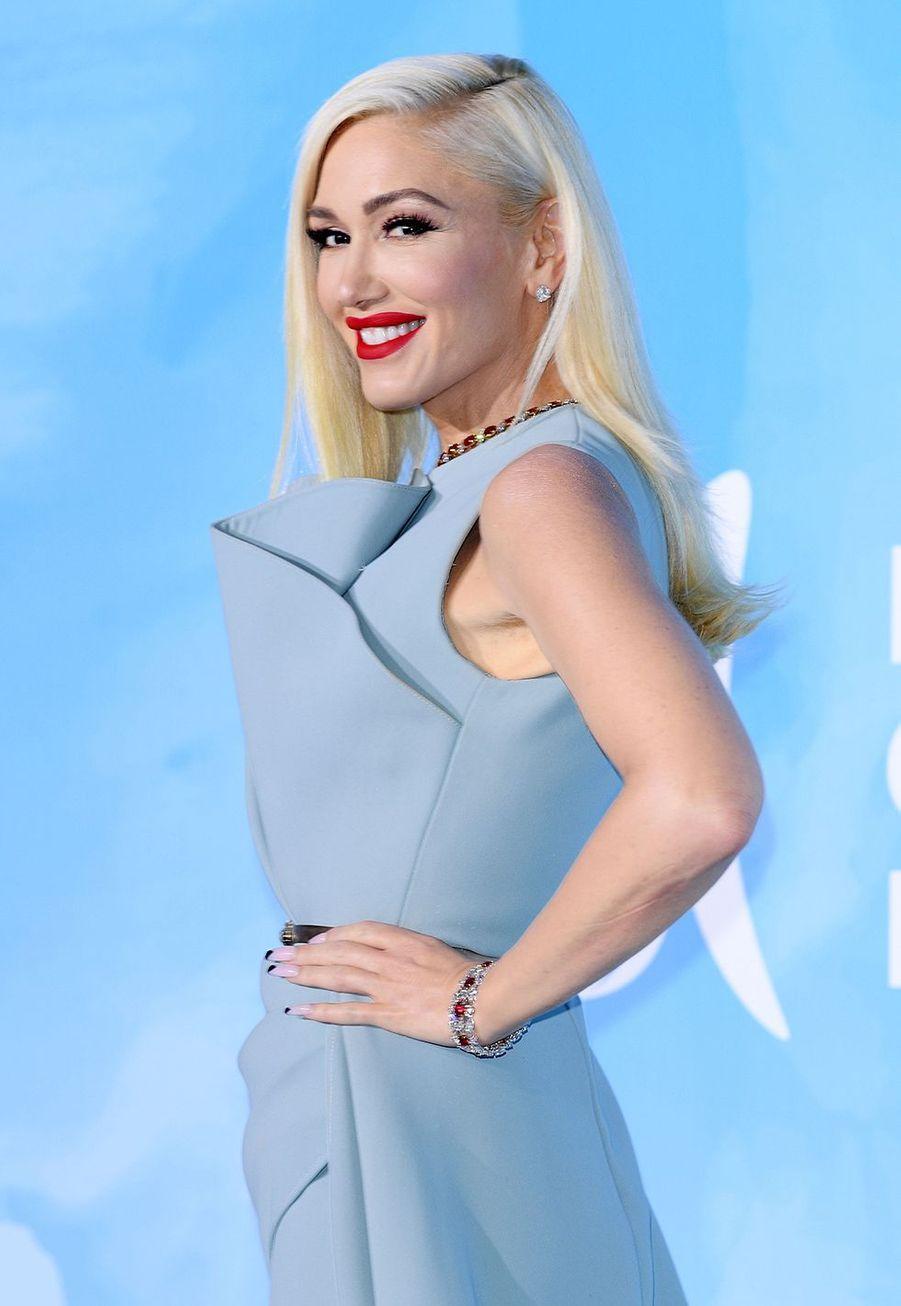 Gwen Stefani à l'Opéra de Monte-Carlo le 26 septembre 2019, pour le Gala du Global Ocean.