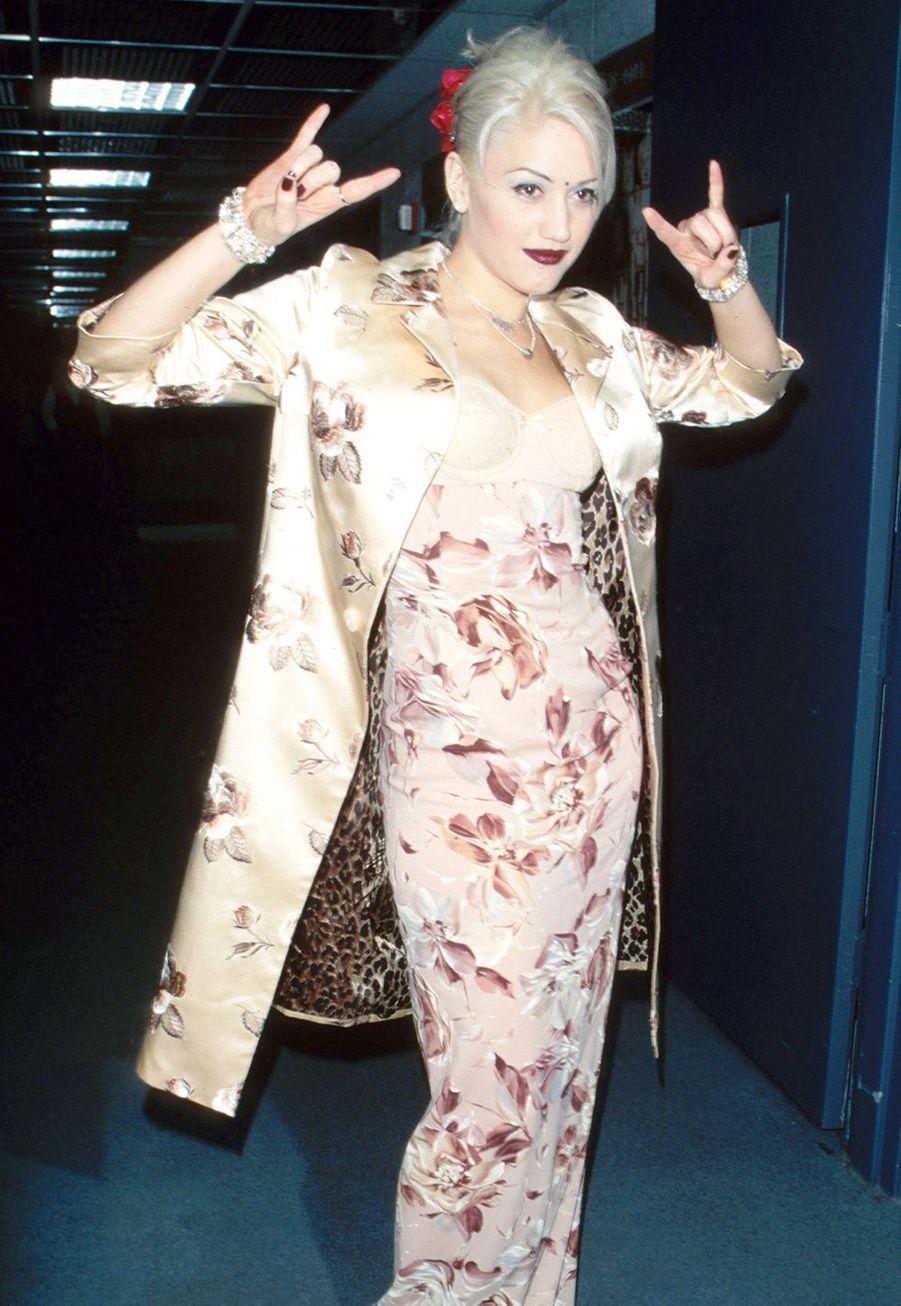 Gwen Stefani aux 39ème Grammy Awards avec No Doubt en 1997.