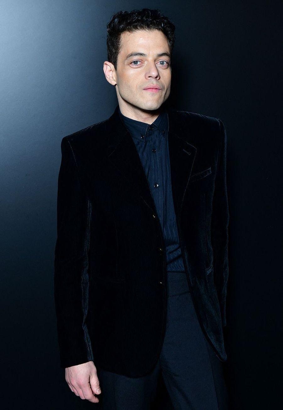 Rami Malekau défilé Saint Laurent à Paris le 25 février 2020