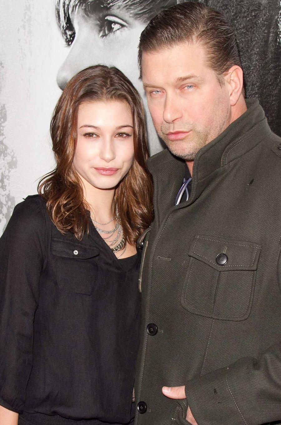 Hailey Bieber et son père Stephen Baldwin en 2010
