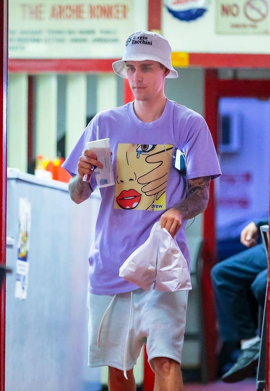 Justin Bieberà Los Angeles le 2 octobre 2019
