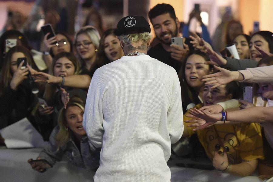 Justin Bieberà l'avant-première du documentaire «Justin Bieber : Seasons» à Los Angeles le 27 janvier 2020
