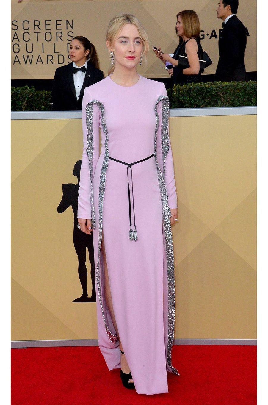 Saoirse Ronan en Louis Vuitton