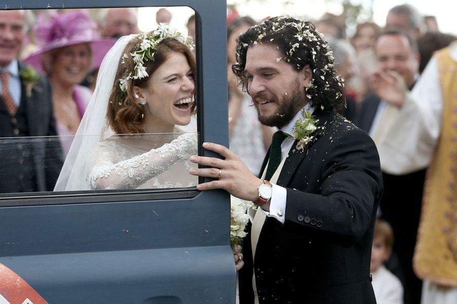 Kit Harington et Rose Leslie se sont mariés le 23 juin, en Écosse