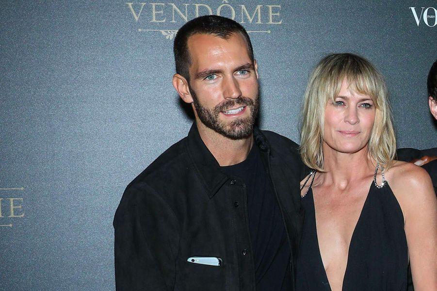 Robin Wright et Clément Giraudet se sont mariés le 10 août, en France