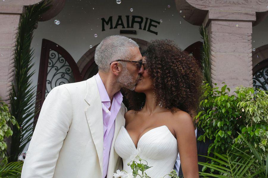"""Vincent Cassel et Tina Kunakey se sont dit """"oui"""" à Bidart, le 24 août"""
