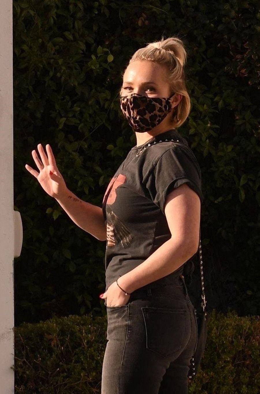 Hayden Panettiereà Los Angeles le 27 octobre 2020