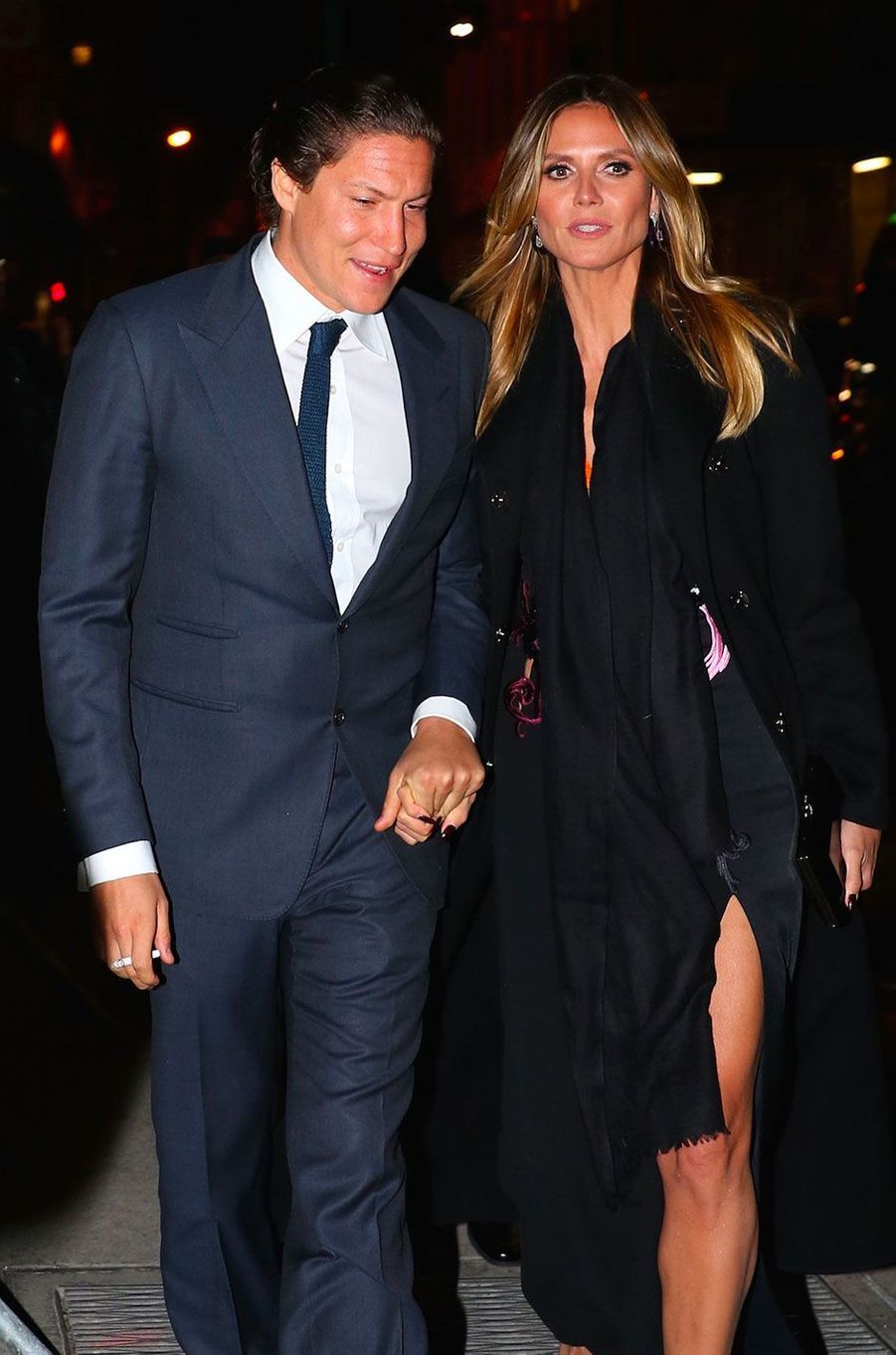 Heidi Klum et Vito Schnabel à New York en février 2017