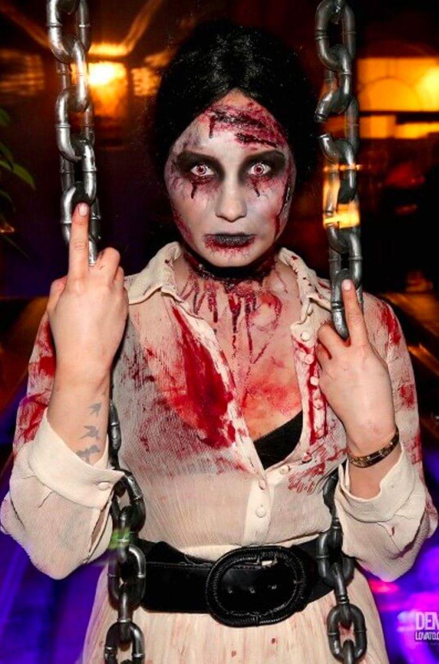 Demi Lovatopour Halloween 2013