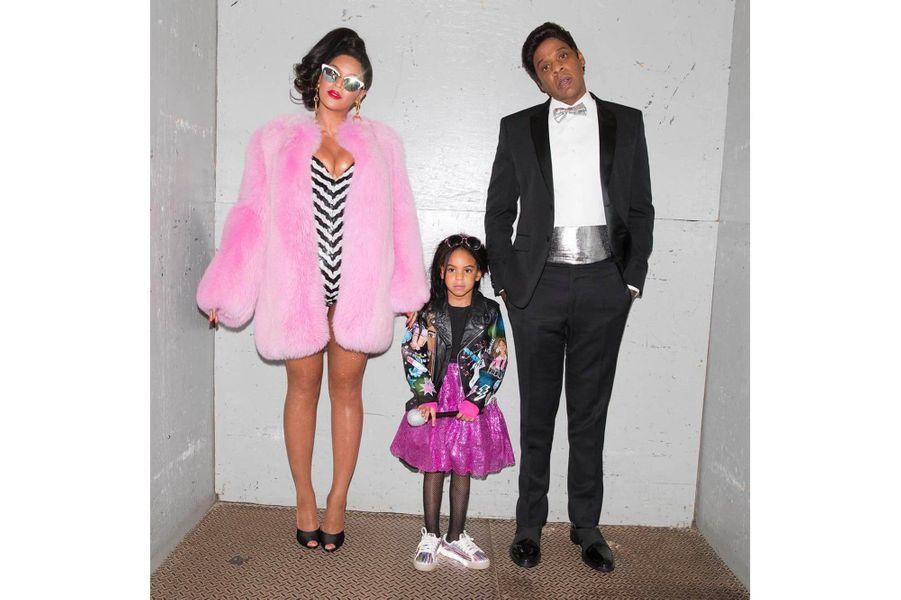 Beyoncé et Blue Ivy en Barbie, et Jay Z en Ken pour Halloween 2016