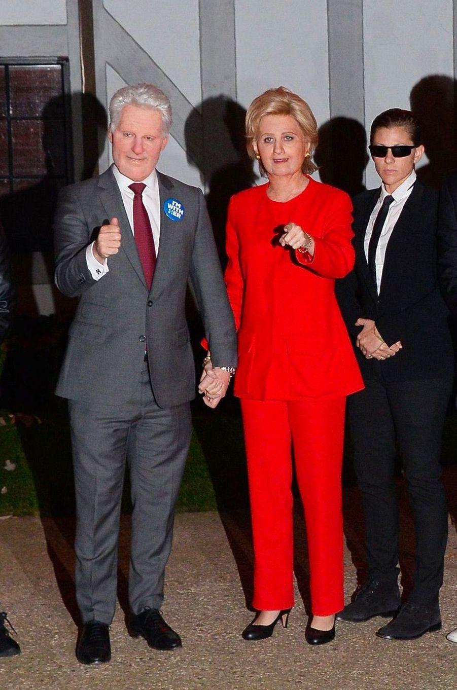 Katy Perry en Hillary Clinton et Orlando Bloom en Bill Clinton pour Halloween 2016