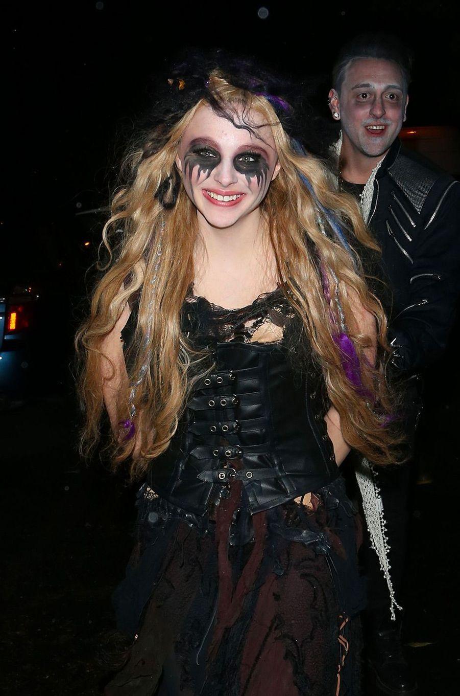 """Chloé Grace Moretz en Bellatrix Lestrange dans """"Harry Potter""""pour Halloween 2012"""