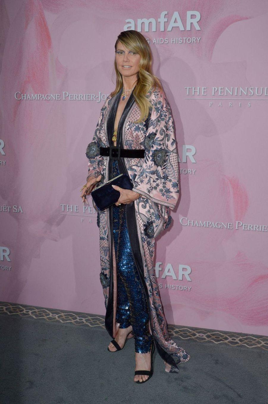 Heidi Klum à Paris, le 30 juin 2019