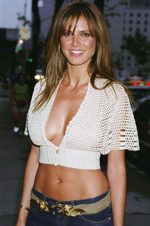 Heidi Klum en 2001