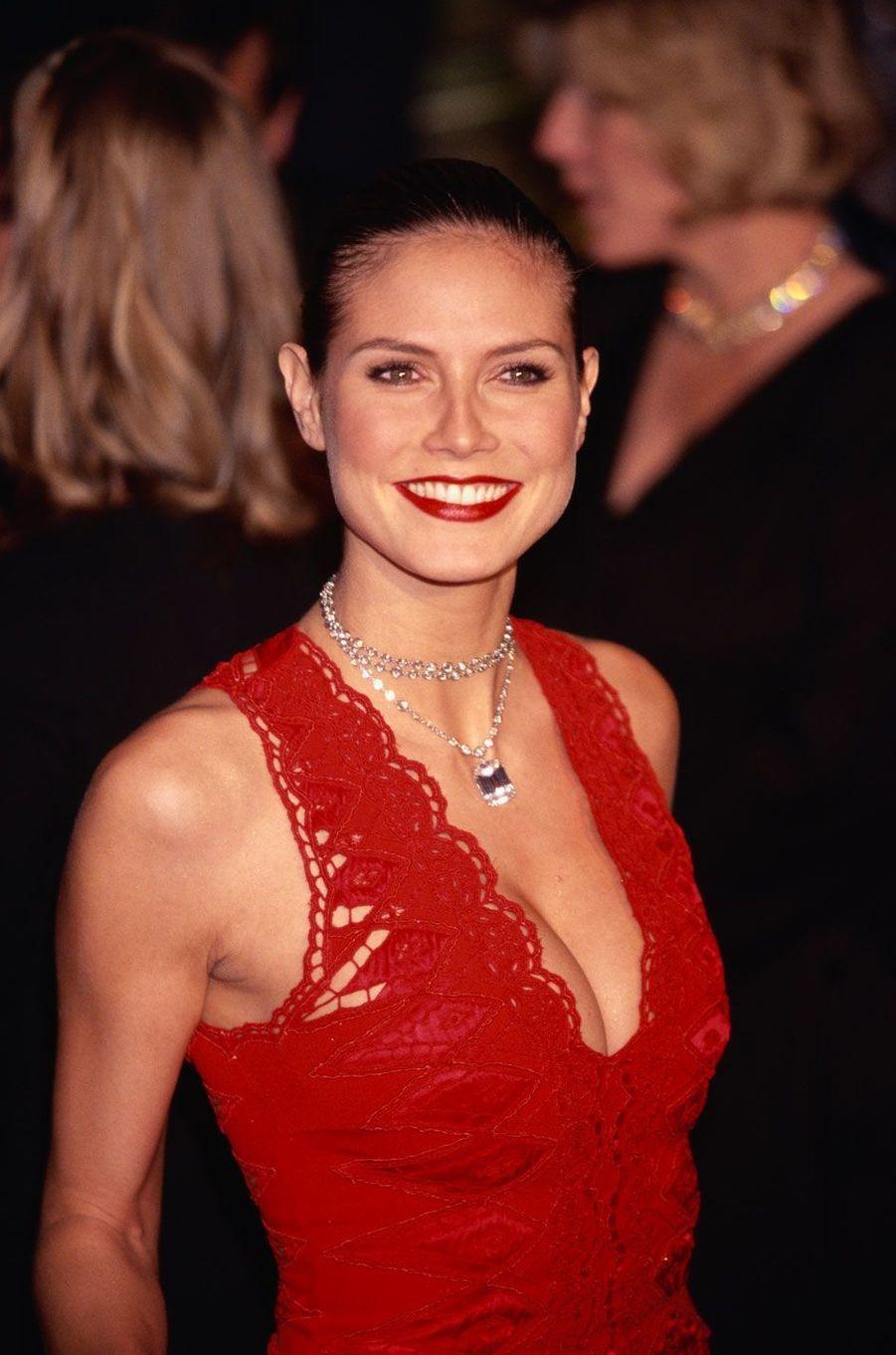 Heidi Klum en 2002