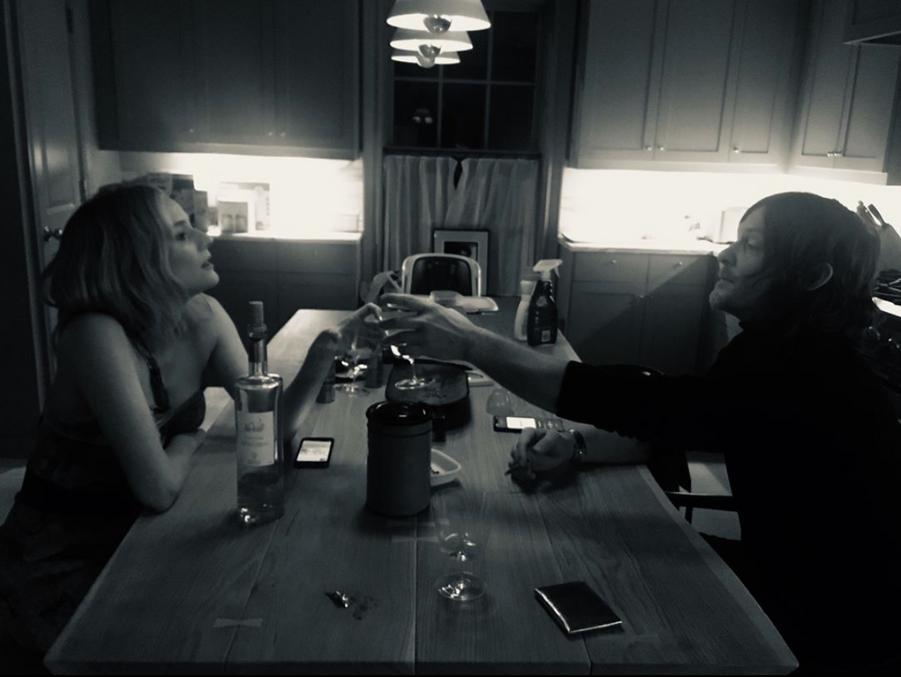 Diane Kruger et Norman Reedus