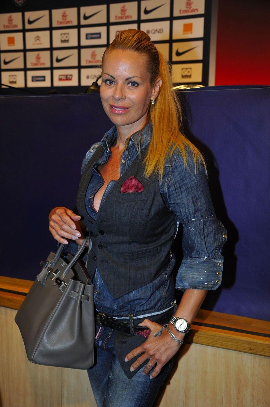 Helena Seger le 18 juillet 2012