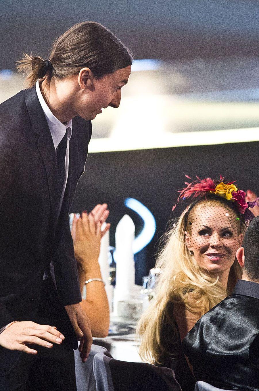 Zlatan Ibrahimovic et Helena Segerle 12 novembre 2012