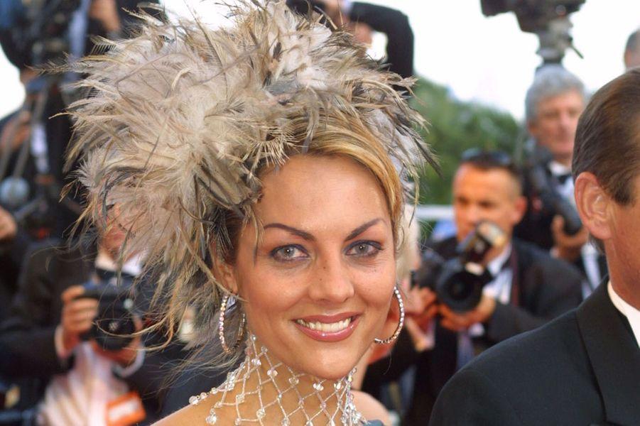 Hermine de Clermont-Tonnerre au Festival de Cannes.