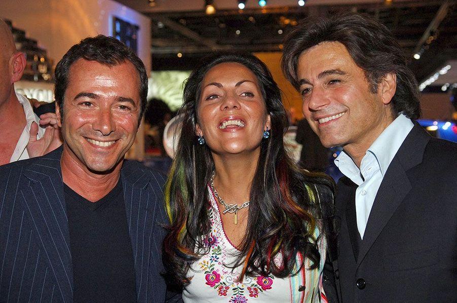 Bernard Montiel, Alexandre Zouari et Hermine de Clermont-Tonnerre/