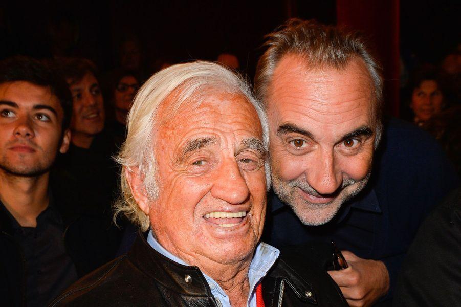 Jean-Paul Belmondo et Antoine Duléry