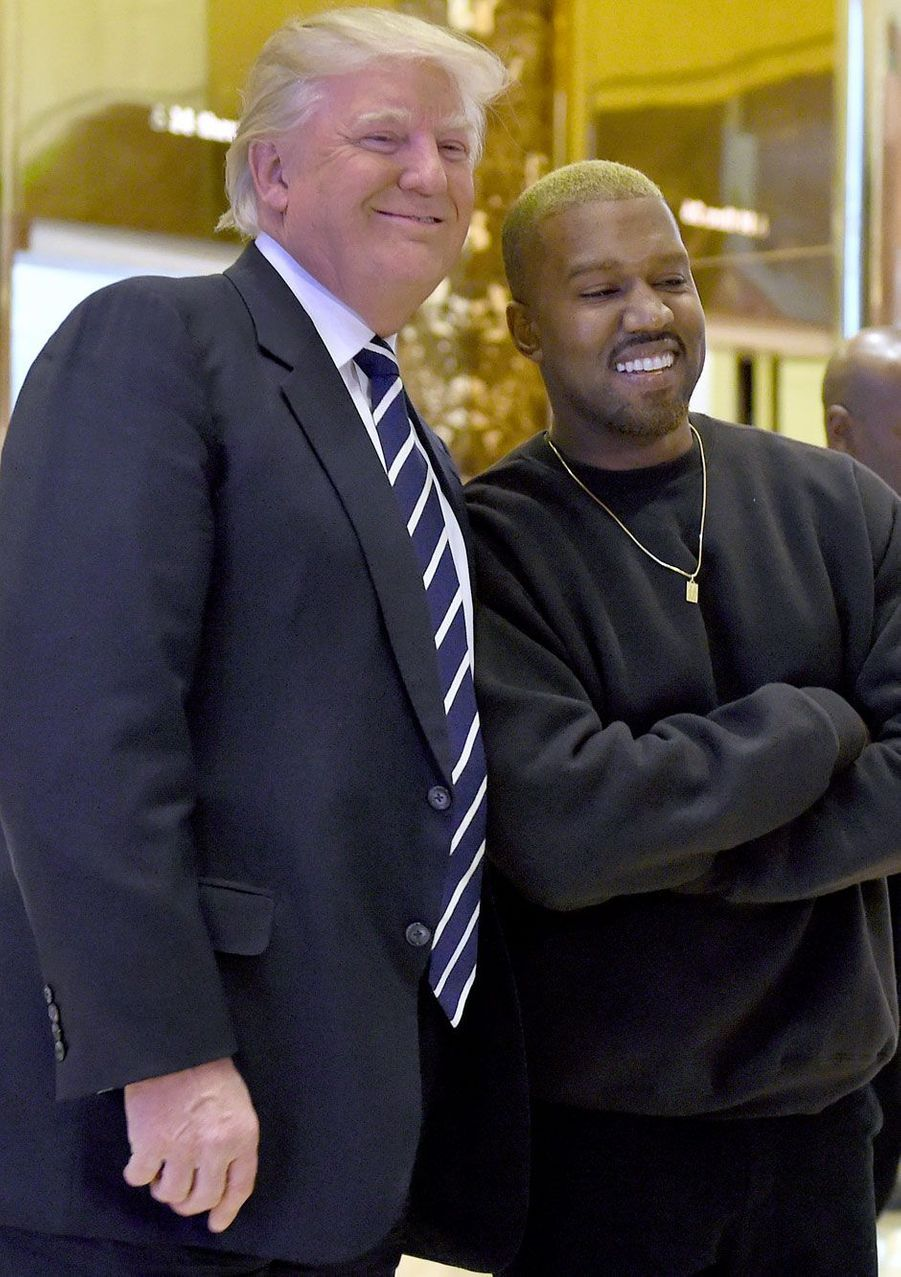 Kanye West et Donald Trump