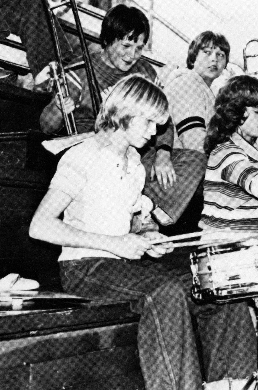 Kurt Cobain en 1981
