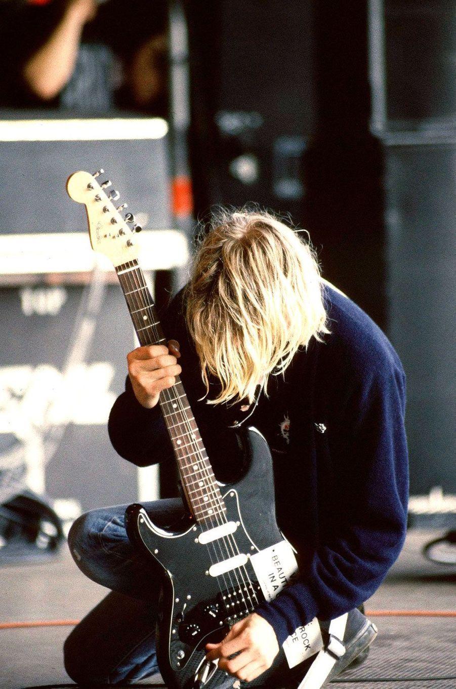 Kurt Cobain auPukkelpop Festival en 1991