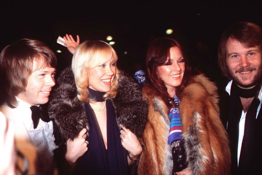 Le groupe ABBA en 1979