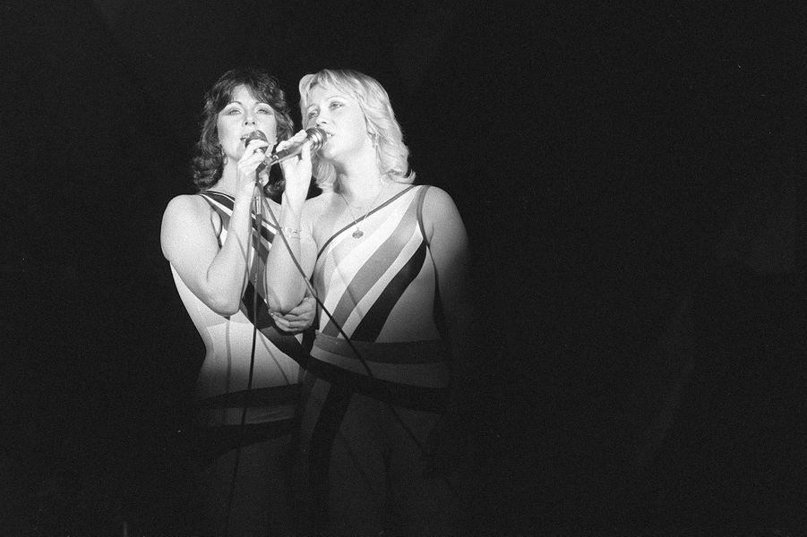 Agnetha FältskogetAnni-Frid Lyngstaden 1979