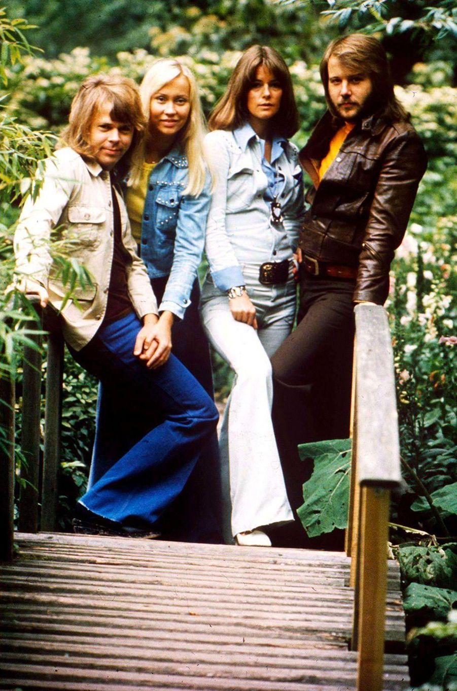 Le groupe ABBA en 1975