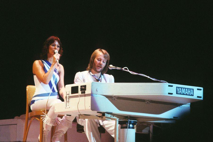 Anni-Frid LyngstadetBenny Anderssonen 1979
