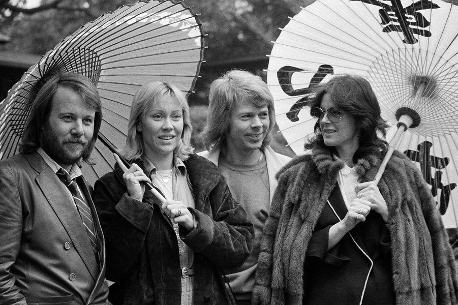 Le groupe ABBA en 1980