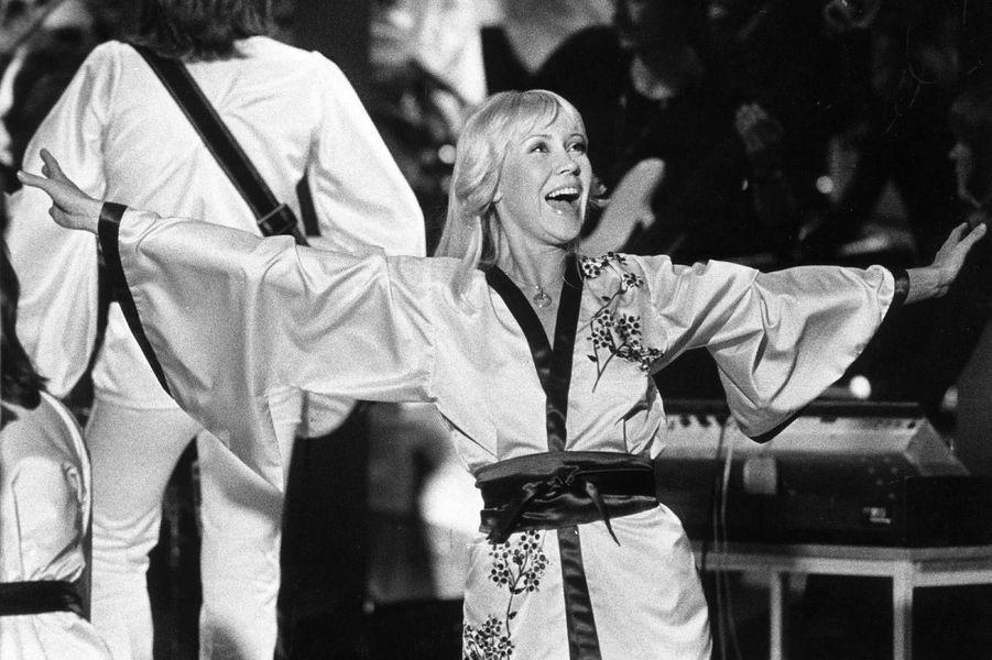 Agnetha Fältskog en 1976