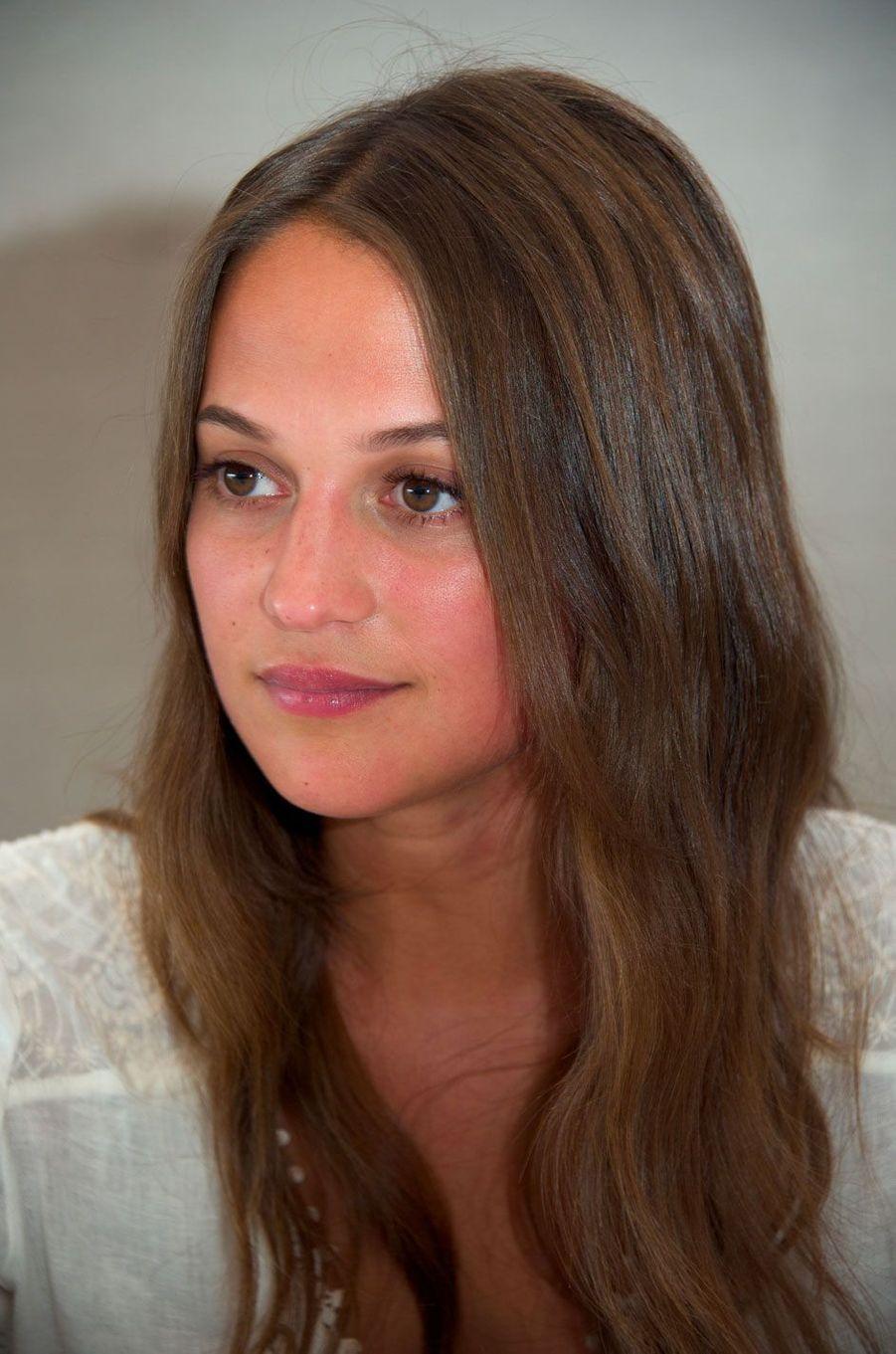Alicia Vikander en juillet 2016