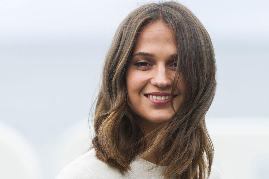 Alicia Vikander en septembre 2017
