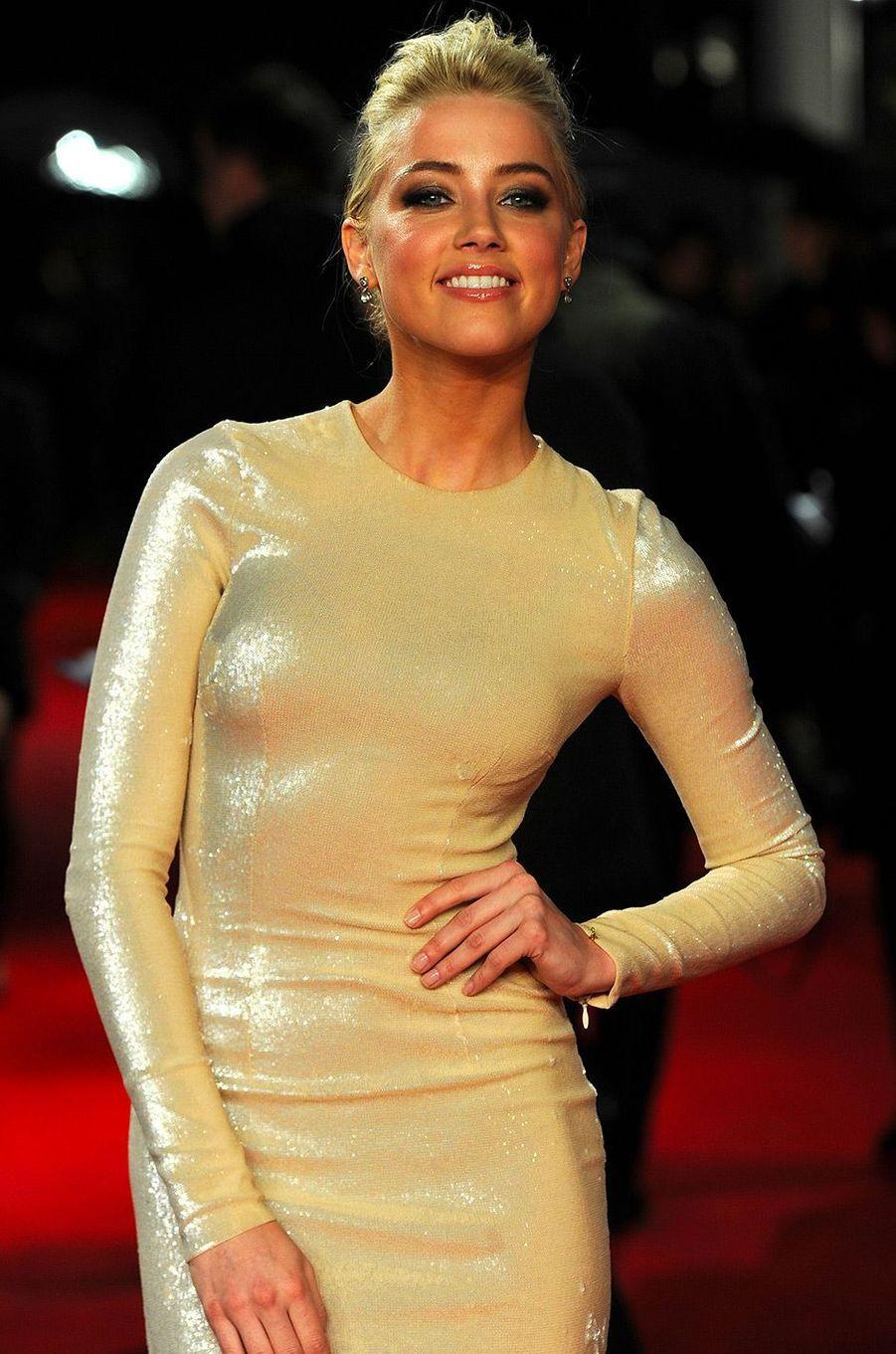 Amber Heard le 3 novembre 2011