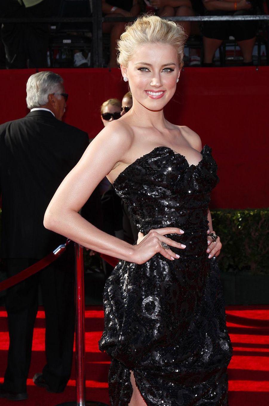 Amber Heard le 14 juillet 2011