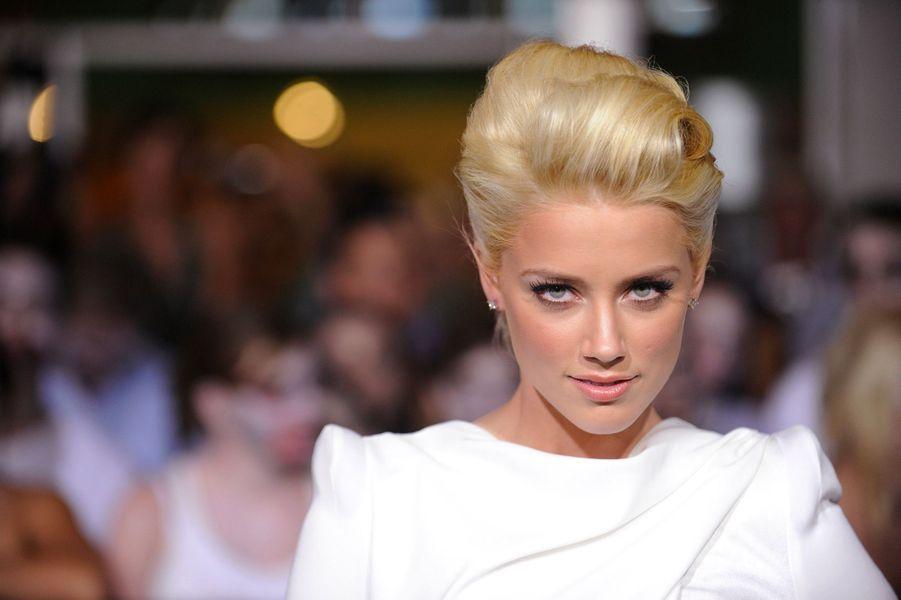 Amber Heard le 24 septembre 2009