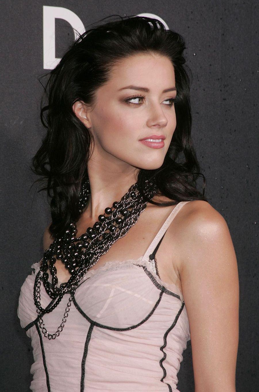 Amber Heard le 16 décembre 2008